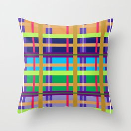 Southwest Midwest Wild West 2 Throw Pillow
