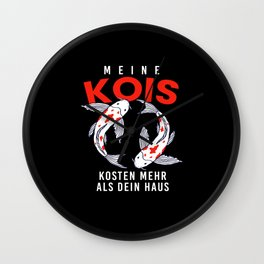 Kois Costs More Than House Wall Clock