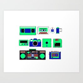 80s, 90s and beautiful old time Art Print