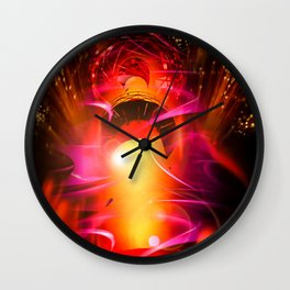 Lighthouse romance 10 Wall Clock