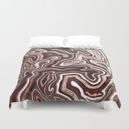 Abstract #1 - I Pastel Pink Duvet Cover