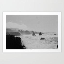 Misty Cliffs of the Soul Art Print