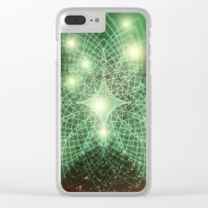 Geometry Dreaming Clear iPhone Case