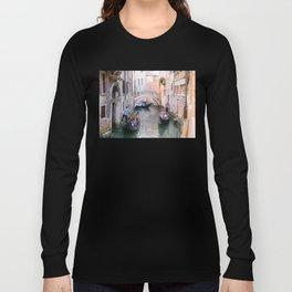 Exploring Venice by Gondola Long Sleeve T-shirt