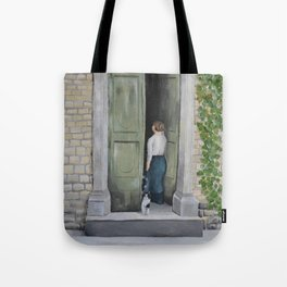 Going In and Out Tote Bag
