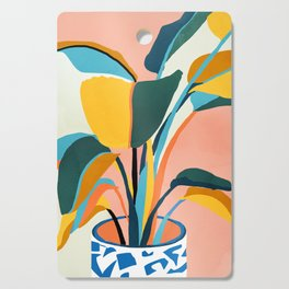 Nature Does Not Hurry Yet Everything Is Accomplished #painting Cutting Board