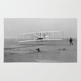 Wright Brothers First Flight Rug