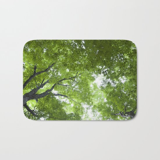 Leaves and Lace Bath Mat