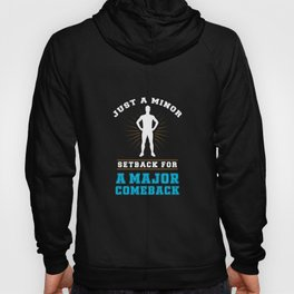 Acl Surgery Broken Ankle Survivior Gift Hoody