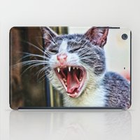 dentist iPad Cases featuring While at the Dentist by Music of the Heart