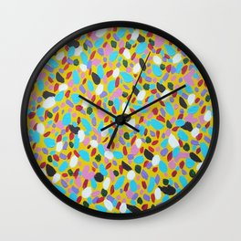 Chasing the Sun Abstract Art Wall Clock