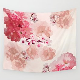 Floral Rage Wall Tapestry