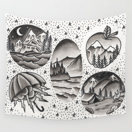 PNW Scenes Wall Tapestry