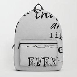 Even Flow Backpack
