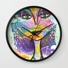 Oh My Darling, Its True. Beautiful Things Have Dents and Scratches Too Wall Clock