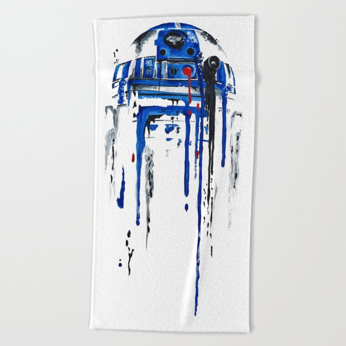 A blue hope 2 Beach Towel