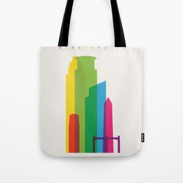 Shapes of Minneapolis Tote Bag