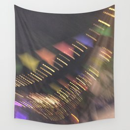 Lights and Pennants Wall Tapestry