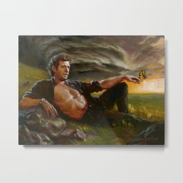 Ian Malcolm: From Chaos Metal Print