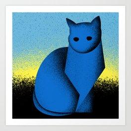 Sunrise (Electric Catnip) Art Print