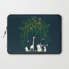 Re-paint the Forest Laptop Sleeve