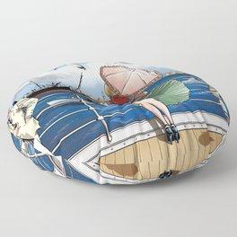 Penny Rogers - Hot wind Floor Pillow