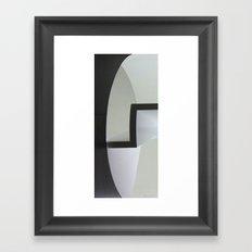 Cylinder Framed Art Print