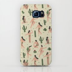 Girls loves cactus Slim Case Galaxy S6