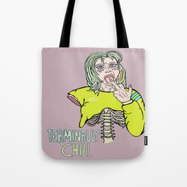 Terminally Chill: The Deadly Lick Tote Bag
