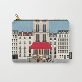 Parisian Cafe on the Street | Paris, France Carry-All Pouch