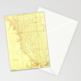 Tierra Loma School, CA from 1923 Vintage Map - High Quality Stationery Cards