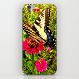 A Summer Butterfly iPhone Skin