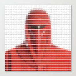 Imperial Guard - StarWars - Pantone Swatch Art Canvas Print
