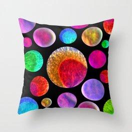 My Happy Solar System Throw Pillow