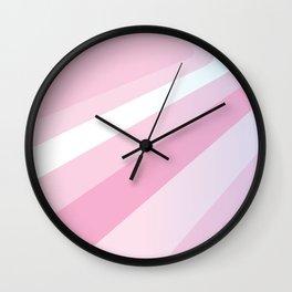 PINK Abstract Art Wall Clock