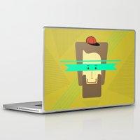 superhero Laptop & iPad Skins featuring current superhero by AmDuf