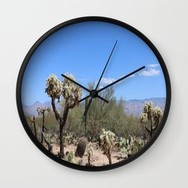 The Beauty Of The Desert Wall Clock