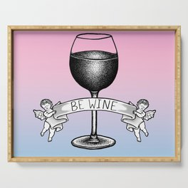 Be Wine (Pastel Edition) Serving Tray
