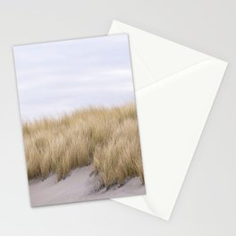 Field of grass growing in the sand Stationery Cards