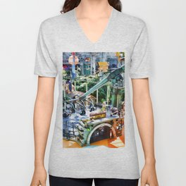 Grab Shell and Head to Mall of America Unisex V-Neck