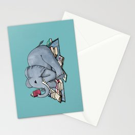 The Best Thing About Rainy Days Stationery Cards