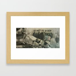 With Honor Framed Art Print