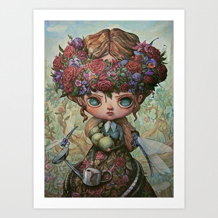 The Garden Queen Art Print