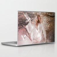 virgo Laptop & iPad Skins featuring Virgo by Orina Kafe