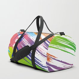 Multicolor Woman runner Duffle Bag