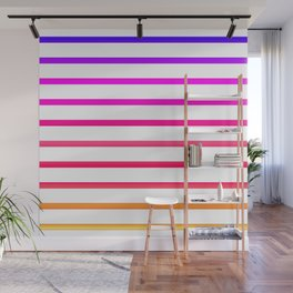 Warm lines Wall Mural