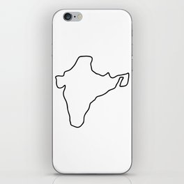 India Indian map iPhone Skin