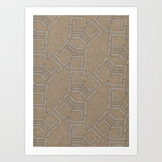 Patternitty  Art Print