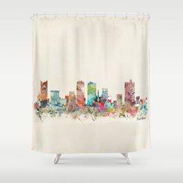 forth worth texas Shower Curtain