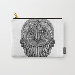 Tangled Barn Owl Carry-All Pouch